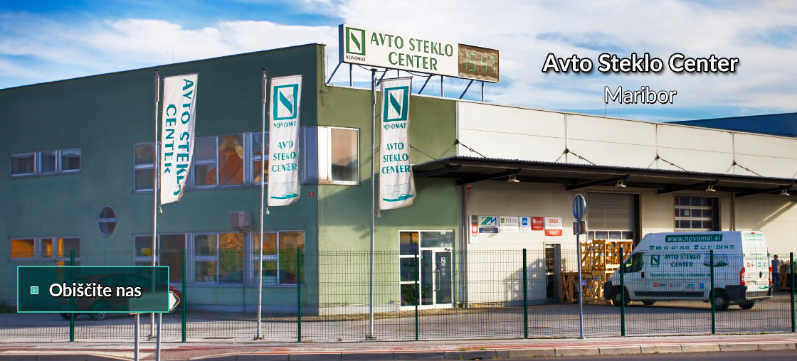 Novomat Avto Steklo Center Maribor